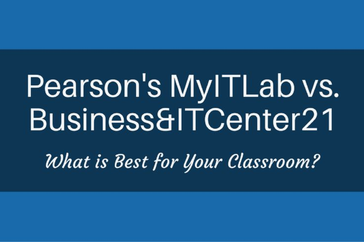 The 150 best computer applications education images on pinterest pearson it lab vs businessitcenter21 what is best for your classroom fandeluxe Images