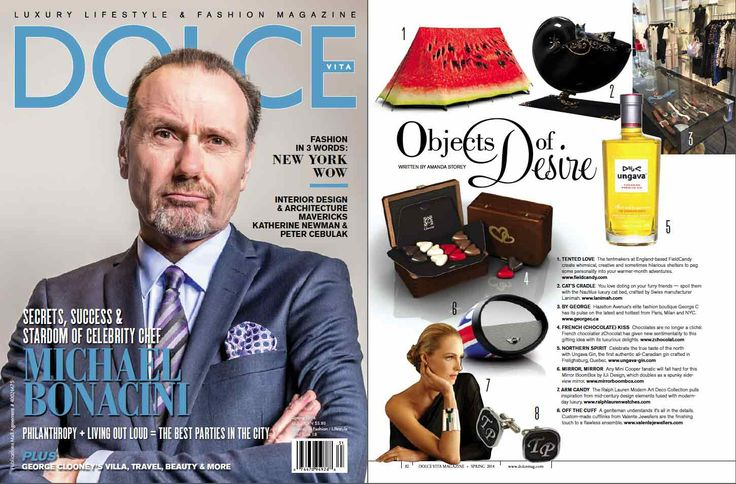 DOLCE Magazine March 2014.