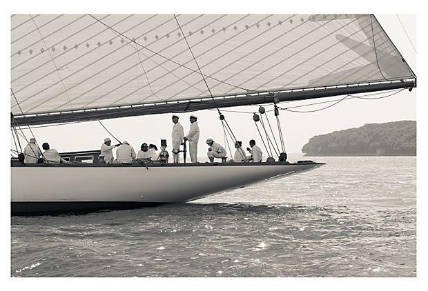 Ben Wood, J-Class Yacht