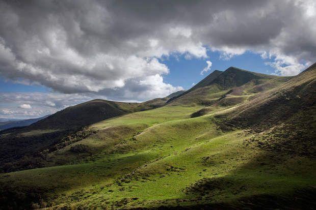 Un silence contemplatifLa beauté solitaire du col de la Croix-Morand (Puy-de-Dôme), à 1 401 m,