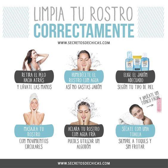 Te limpias el rostro adecuadamente? #TipsYvho