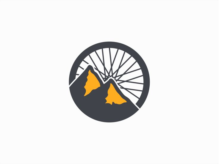 Logo design for a bicycle webstore in Canada.