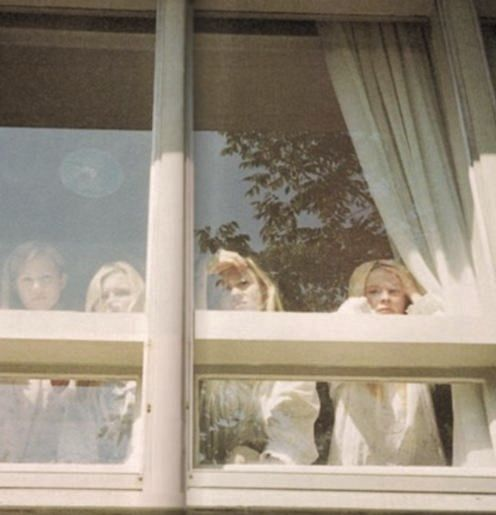 Lisbon Girls. Home like a prison. Freedom through suicide next.The Virgin Suicides. '99.