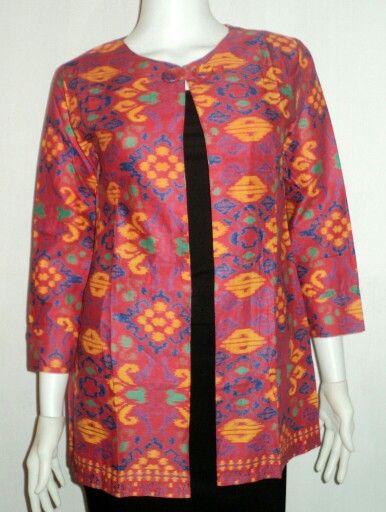 Blazer / bolero batik untuk size XL CP 085729844382