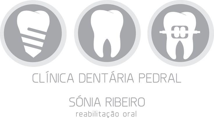New Logo. Thanks Rita. You're the best.  Clinica Dentaria Pedral. Implantologia Dentaria | Facetas Dentarias | Pontes e Coroas | Aparelhos Dentários | Sistema DAMON | Branqueamento Dentario | Endodontia | Próteses Dentárias | Dentisteria Estética |   Rua da Boucinha 593 r/c - Mascotelos. 4835-126 Guimarães.