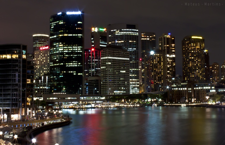 #arquitetura #australia #cannon #circular quay #city #night #sydney