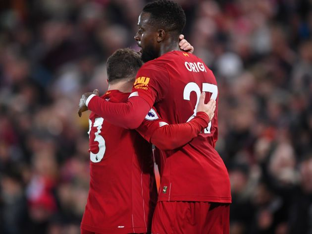 Jurgen Klopp Apologises To Xherdan Shaqiri After Long Overdue Start Against Everton Liverpool Manager Jurgen Klopp Has Apolo Everton Merseyside Derby One Team