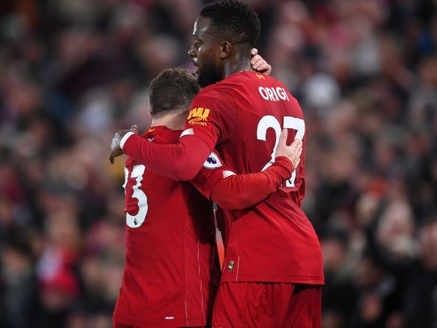 Jurgen Klopp Apologises To Xherdan Shaqiri After Long Overdue Start Against Everton Everton Merseyside Derby Liverpool Football Club