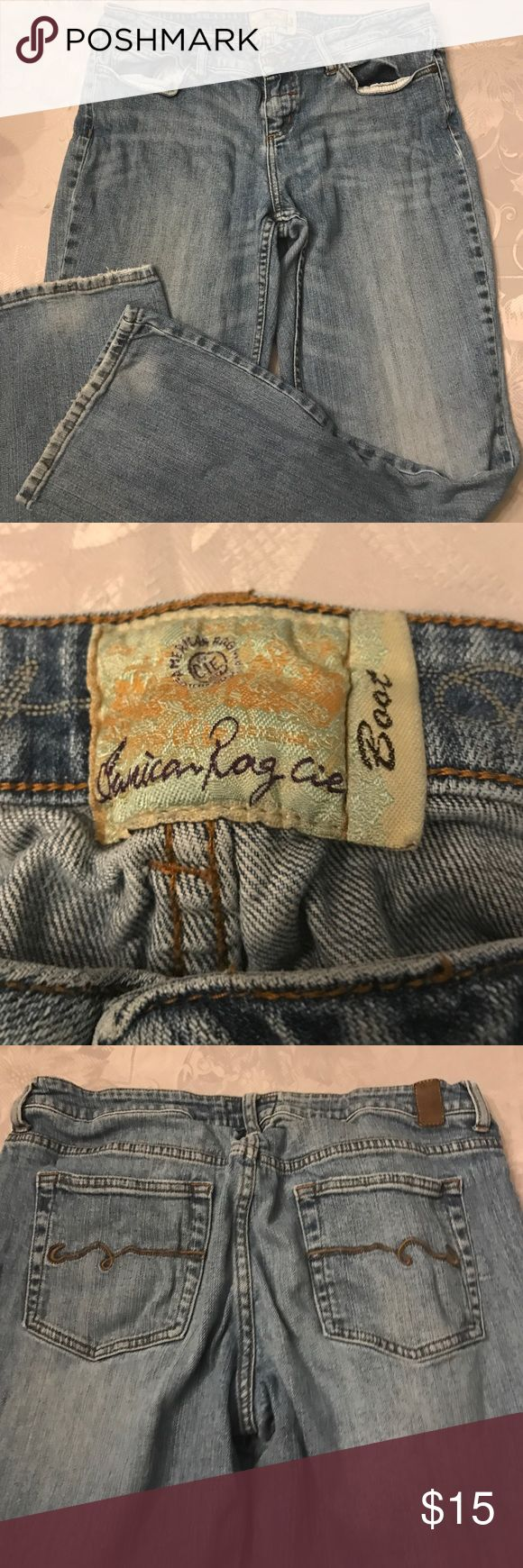 American Rag bootcut jeans. Good condition. Size 13 R. Light blue. American Rag Jeans Boot Cut