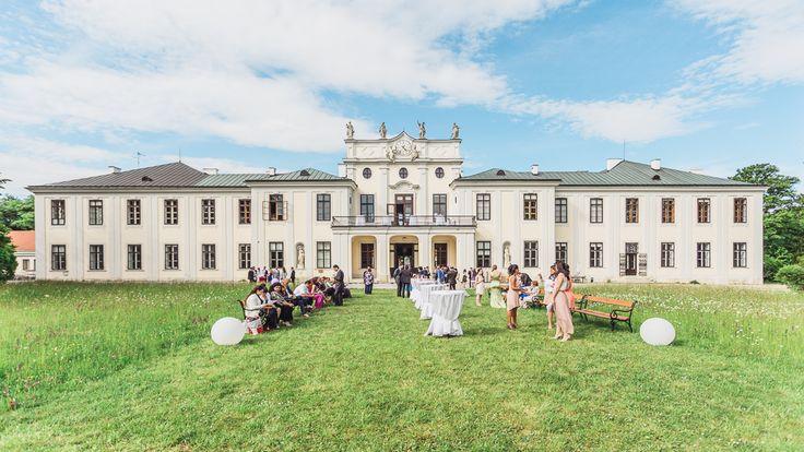 Eine italienisch-polnische Liebesgeschichte: Hochzeit im Schloss Hetzendorf
