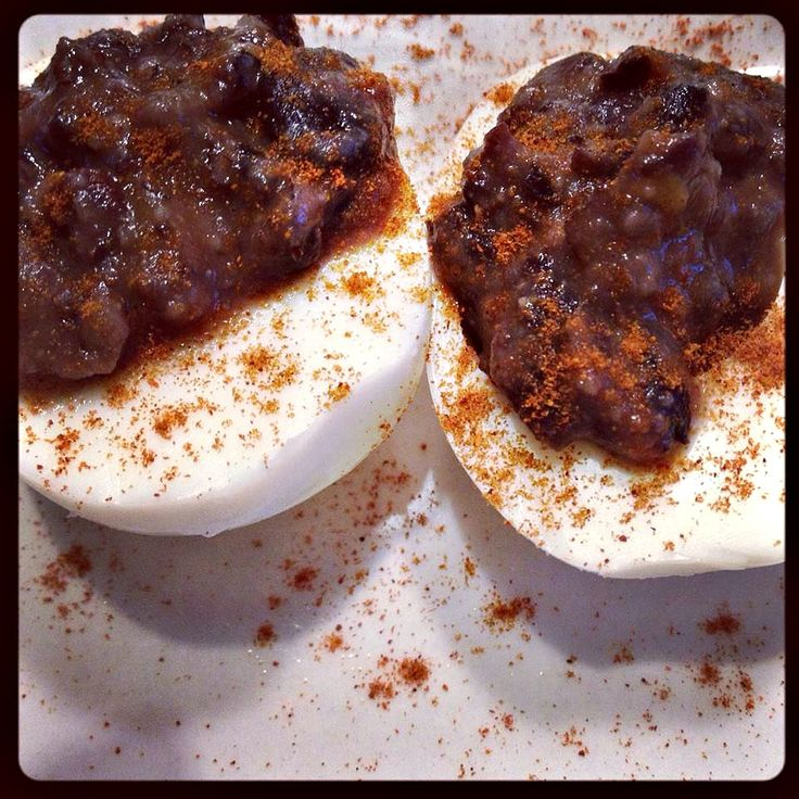 Mexi-Devilish Eggs Perfect for a fat burning snack!!