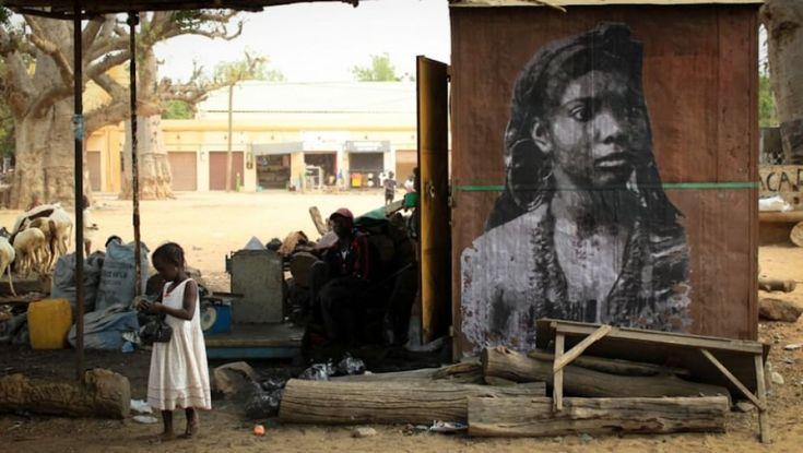 Senegal, la street art ricorda il coraggio delle donne africane