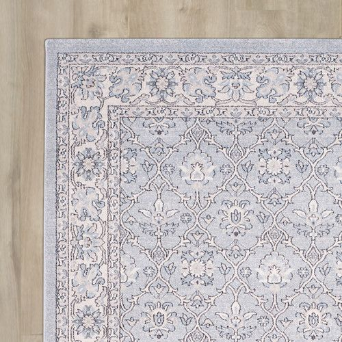 Found it at Wayfair - Quentin Road Light Blue / Ivory Area Rug