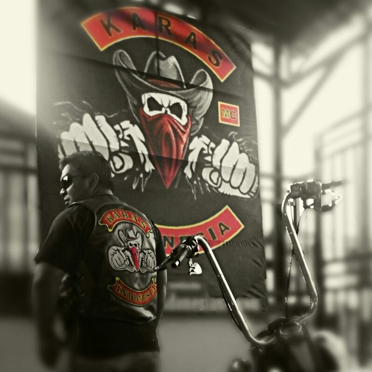 KARAS Rider Indonesian outlaw motorcycle club