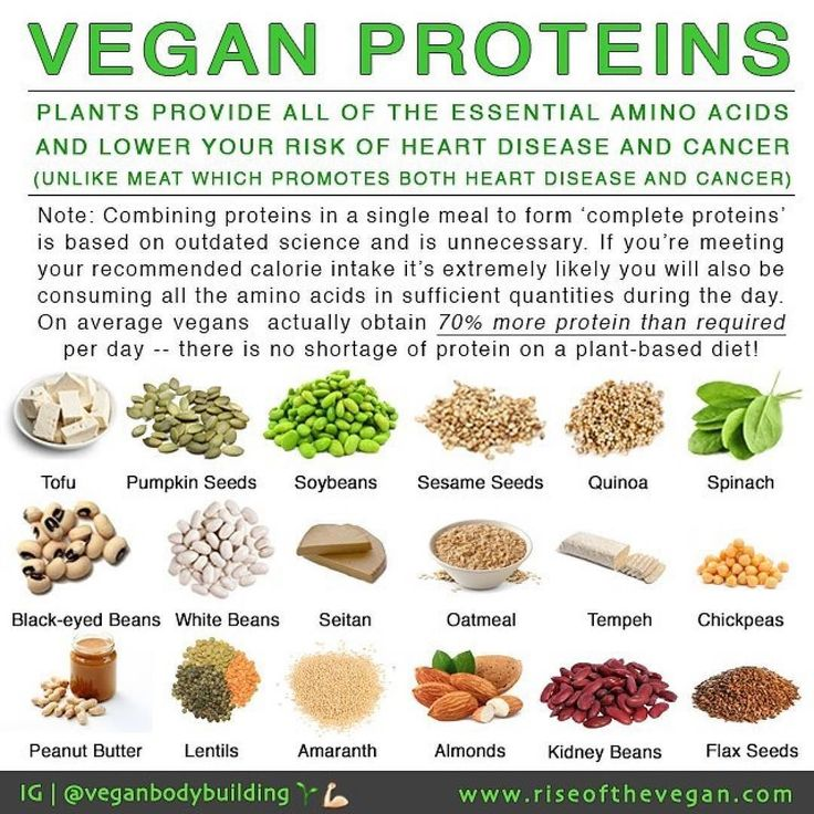 "Most people still seem to think meat is the only source of protein although we are working hard to shatter this myth. Vegans often hear: ""but where do you get your protein?"" Well thanks to a large study that compared the nutrient profiles of around 30000 non-vegetarians to 20000 vegetarians and around 5000 vegans. We now know that vegans average 70% more protein than the recommendation every day._So protein is by far the most overstated nutrient. People are unnecessarily obsessed..."