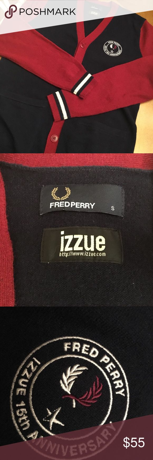 Fred perry red dress 5t