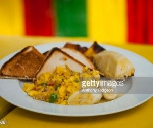 A Caribbean Brunch Favorite: Ackee And Codfish