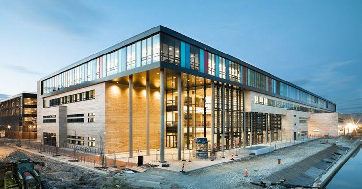 Vågen High School and Sandnes Culture Academy / LINK Arkitektur AS