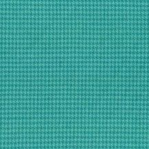 Primo Plaid Flannel Fabric Houndstooth - Teal