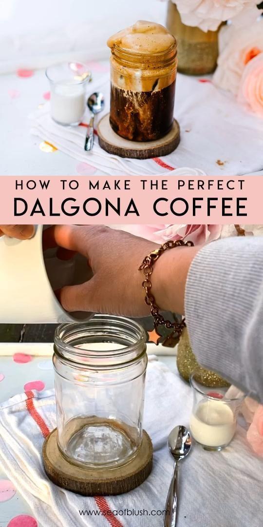 whipped coffee recipe tiktok in 2020   Starbucks drinks ...