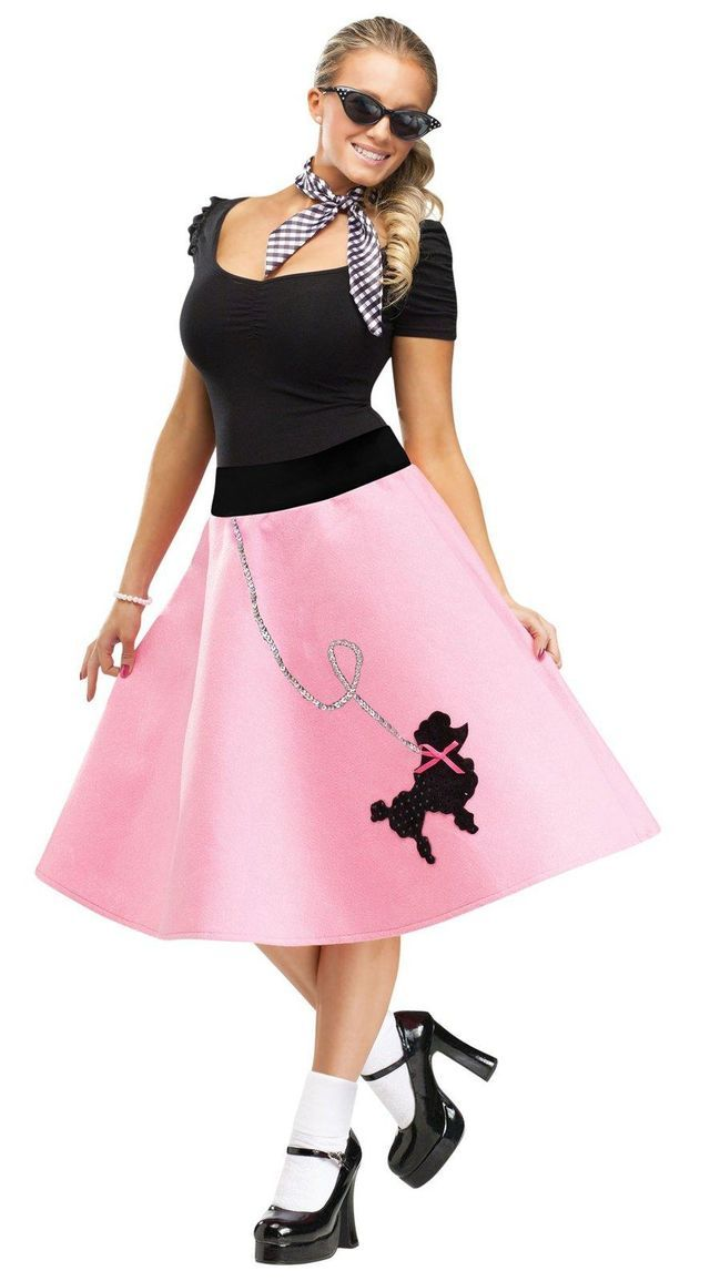 Adult Poodle Skirt From CostumeExpress