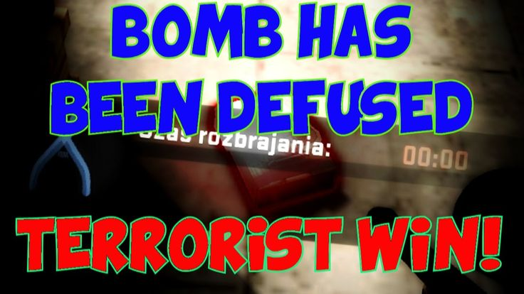 BOMB HAS BEEN DEFUSED. TERRORIST WIN!?