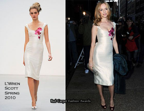 2nd Annual Bent On Learning Benefit – Heather Graham In L'Wren Scott