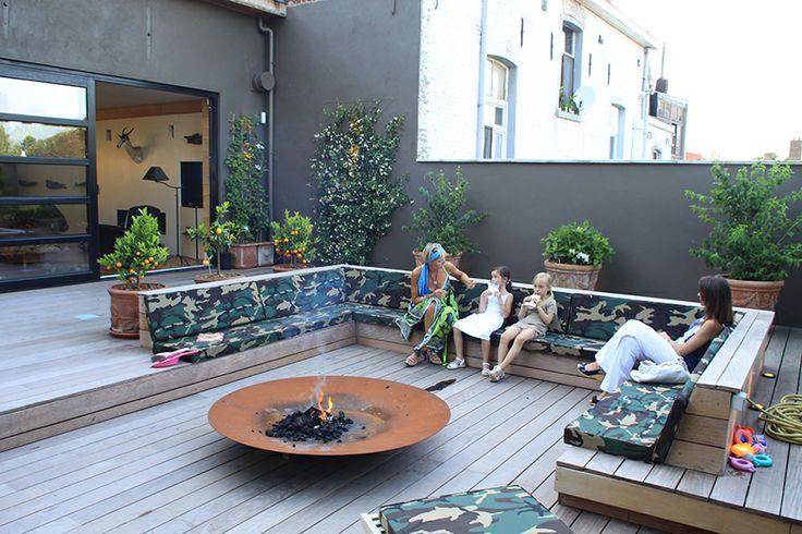 Terrasse en bois. Fixations visseries invisibles HAPPAX www.happax.eu