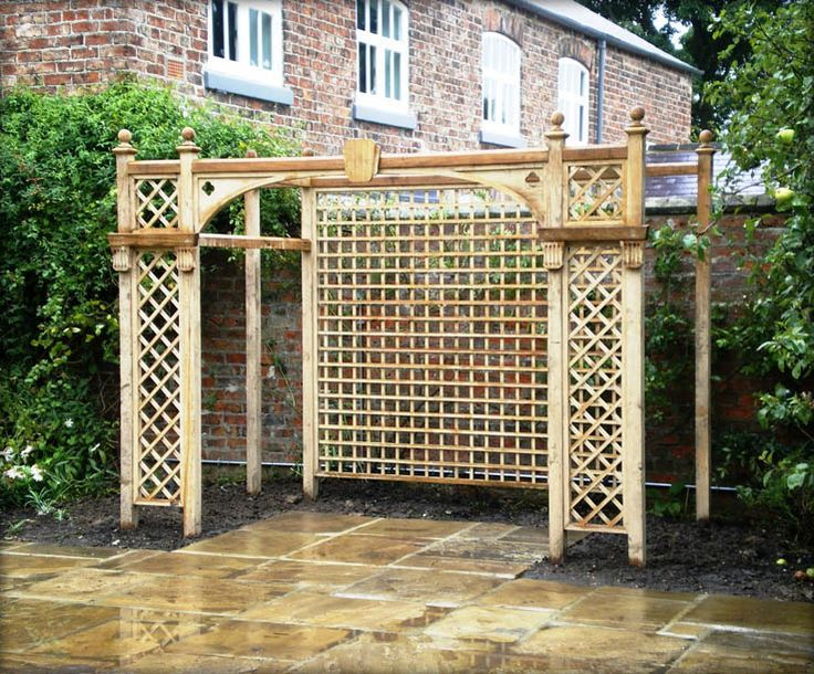 125 best Garden trellis images on Pinterest Patio ideas