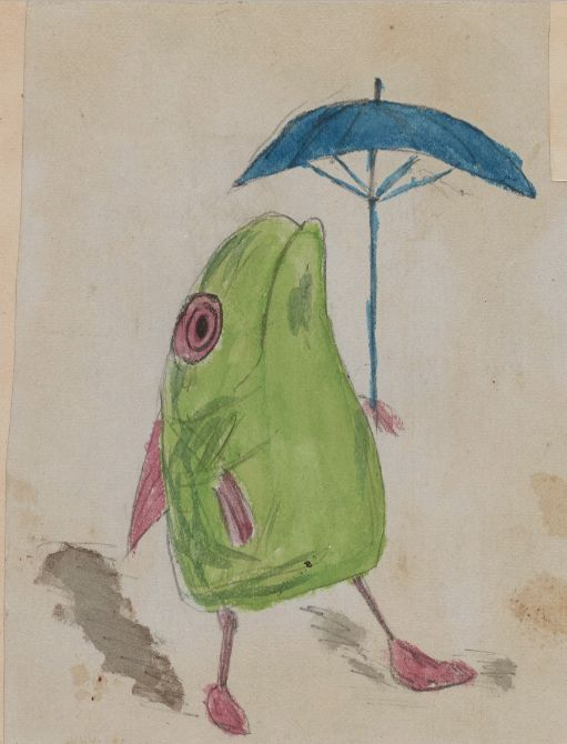 Charles Darwin's Kids Draw on Surviving Manuscript Pages of On the Origin of Species