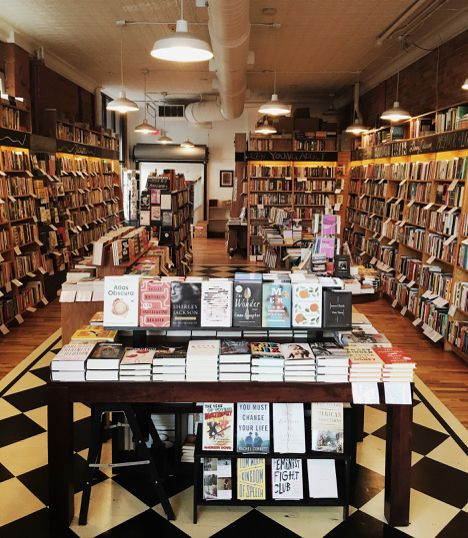 Downtown Ann Arbor Michigan Independent Bookstore Literati