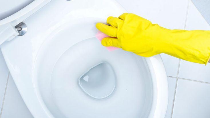 5 enkla sätt att få bort fula fläckar i toaletten