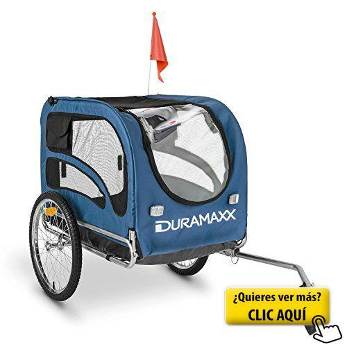 DURAMAXX King Rex remolque para bicicletas... #bicicleta