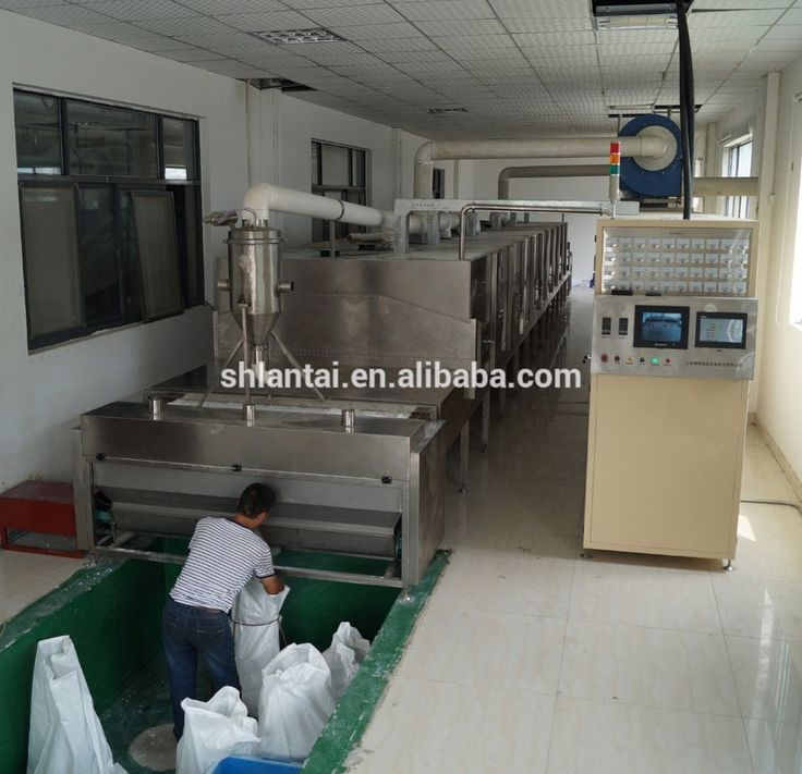 Industrial chemical microwave continuous conveyor belt drying machine molecular sieve dryer