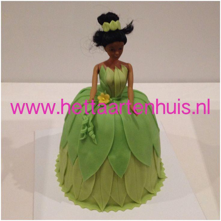 3D Prinses Tiana taart, Bruidstaarten - Het Taartenhuis
