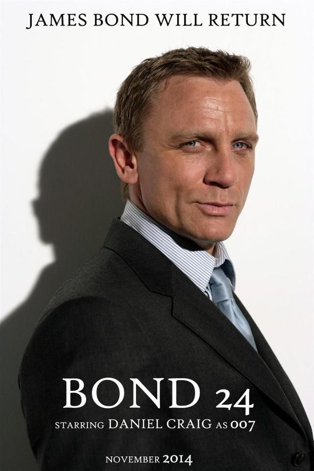 Daniel Craig Another Bond in November :-) Bond, James Bond