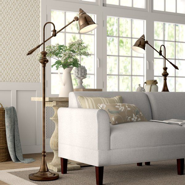 Ginevra 2 Piece Floor And Table Lamp Set Lamps Living Room