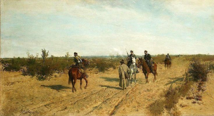 Maksymilian Gierymski - Patrol powstańczy, 1873