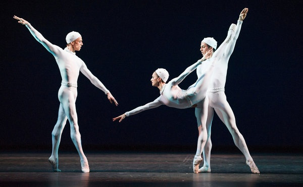 A British Mainstay Current Beyond His Years - Frederick Ashton Revived at Royal Ballet in London (click pic for article)
