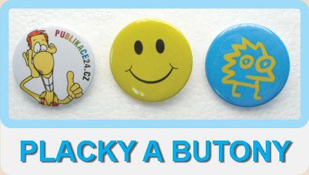 Placky a butony