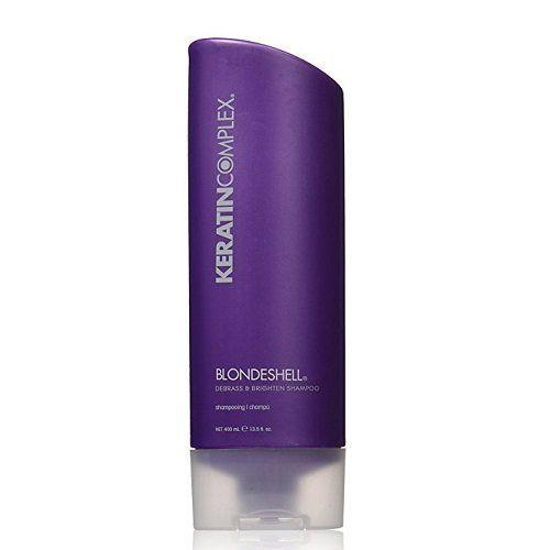 Keratin Complex Blondeshell Šampūnas šviesiems plaukams 400ml