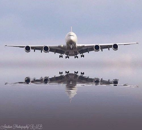 Wow! Airbus A380. By instagr.am/aviation_photography_rmb #avgeek