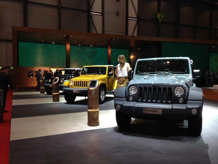 11. Konkurs Kreatywności - Wyróżnienie dla marki Jeep ® za stoisko w Genewie, które pokazuje jak połączyć naturę, technologię i produkty, zachowując przy tym doskonałą harmonię.