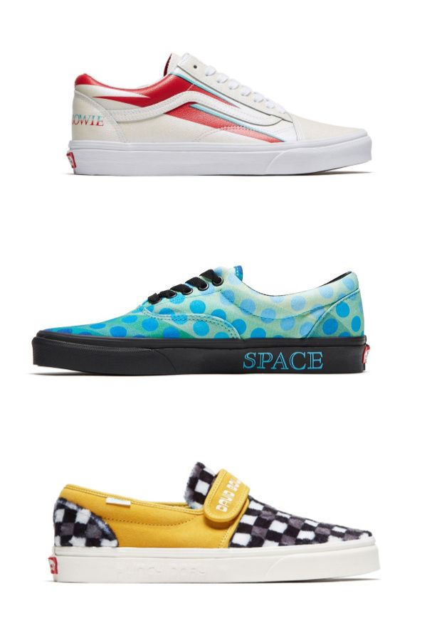 The new Vans x Bowie collection: Can you identify the album