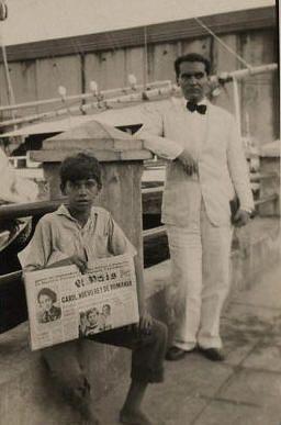 Federico García Lorca en La Habana.