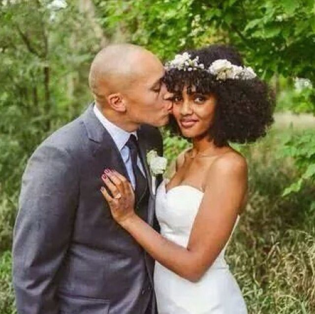 Twist out Natural hair bride | Natural Hair Styles For