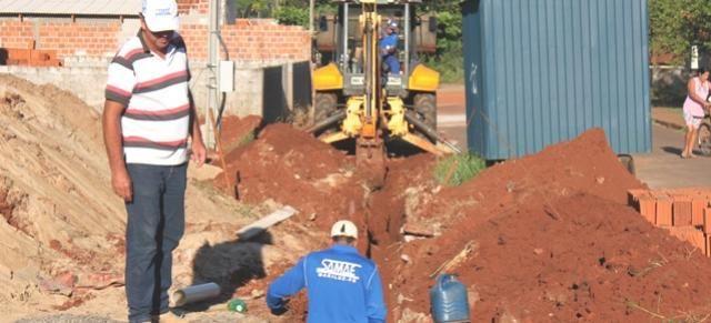 Samae concluiu trabalhos de ligações de água e rede de esgoto em Mariluz