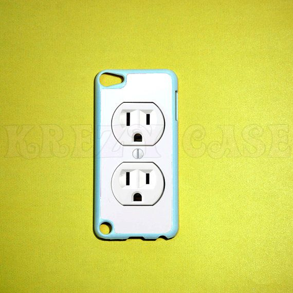 iPod Touch 5 Case Electric Outlet iPod touch 5 Case by KrezyCase, $14.95