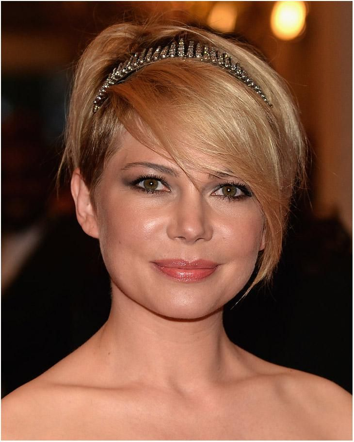 Short Hairstyles for Fat Faces and Thick Hair