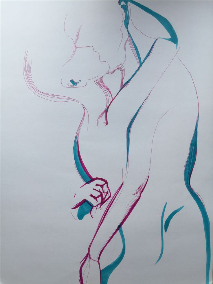 Anatomy, body , sketch